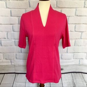 RAFAELLA Knit Stretch Top NWT